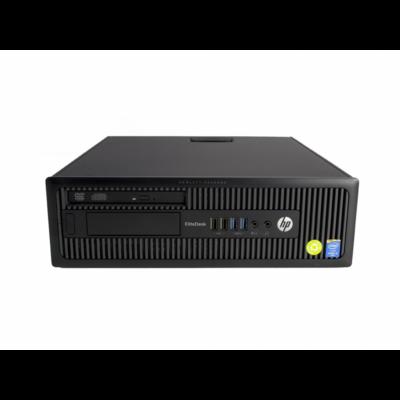 HP ELITEDESK 800 G1 SFF I7-4770 / 8GB / 120SSD / 500GB / GT210